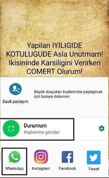 Kapak Sözler Paylaş screenshot 2
