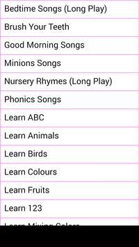 Kids Learning & Nursery Rhymes poster