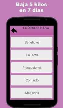 La Dieta de la Uva screenshot 1