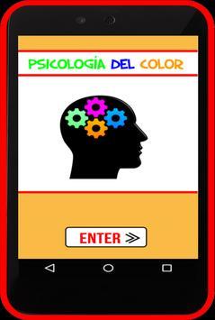 psicología del color poster