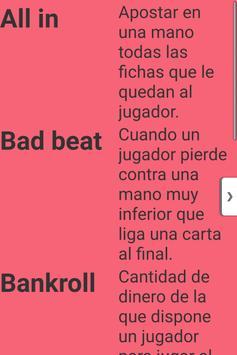 Reglas del Poquer screenshot 2