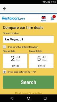 Las Vegas Car Rental, US apk screenshot