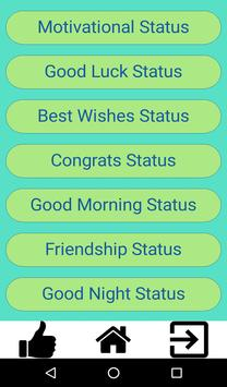 Latest watsapp status poster