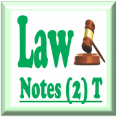 Law Notes - 2 (Introductory) icon