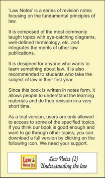 Law Notes - 2 (Introductory) screenshot 1