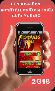 Los mejores festivales Música poster