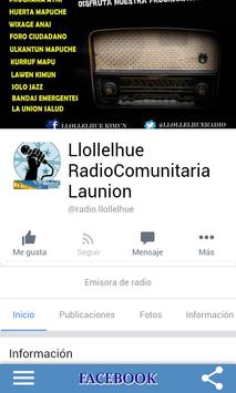 Llollelhue Radio apk screenshot