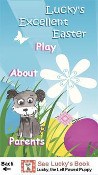 Lucky's Easter Memory Game poster