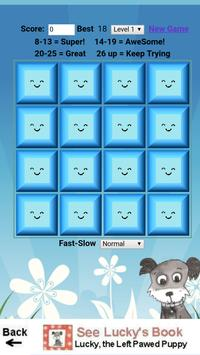 Lucky's Easter Memory Game screenshot 1