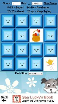 Lucky's Easter Memory Game screenshot 2