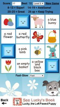 Lucky's Easter Memory Game apk screenshot