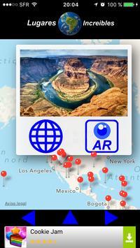 Lugares increíbles apk screenshot