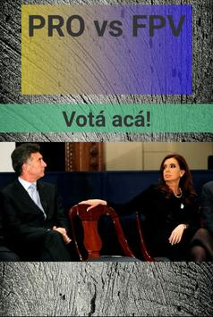 Macri vs Cristina apk screenshot