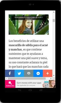 Mascarillas Para el Acné - Naturales y Eficaces screenshot 4