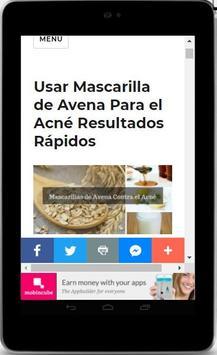Mascarillas Para el Acné - Naturales y Eficaces screenshot 1