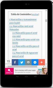 Mascarillas Para el Acné - Naturales y Eficaces screenshot 3