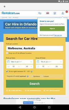 Melbourne Car Rental, Australia apk screenshot