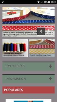 Mercería Barrio Tienda Online screenshot 1