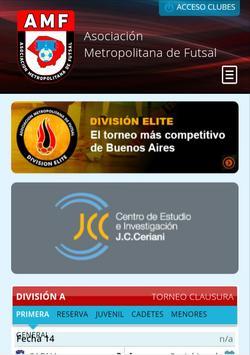 Metro Futsal poster