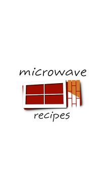 Microwave recipes poster