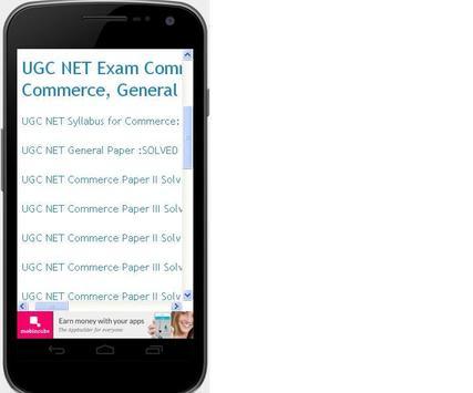Mission UGC Net Commerce apk screenshot
