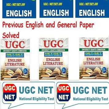 Mission UGC Net English poster