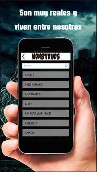 Monstruos y seres screenshot 2