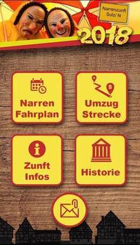 Narrenzunft Sulz/ N. e.V. poster