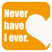 Never have I ever: game. Funny & hot questions icon