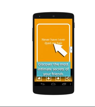 Never have I ever: game. Funny & hot questions apk screenshot