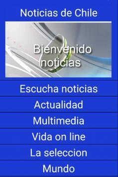 Noticias Chile poster