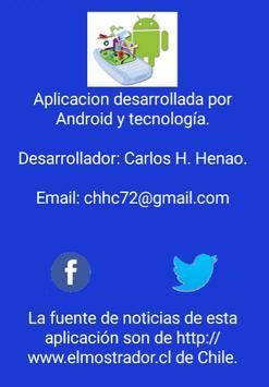 Noticias Chile apk screenshot