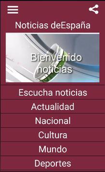 Noticias España poster