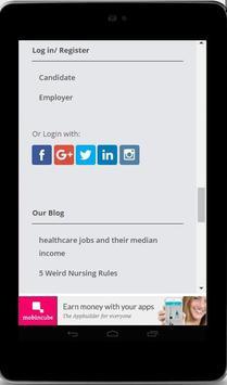 Nursing Jobs Search App apk screenshot