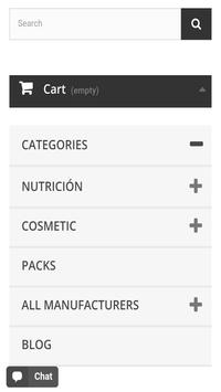 NUTRICOSMETIC SHOP screenshot 1