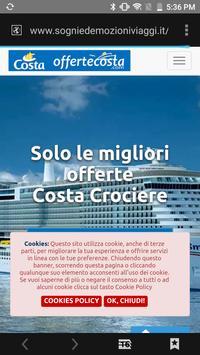 Offerte Costa Crociere screenshot 4