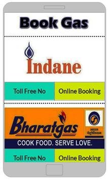 Online Gas Booking poster