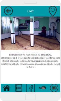 Orari Preghiere Ticino - LMT poster