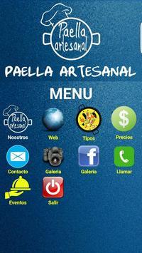Paella Artesanal poster