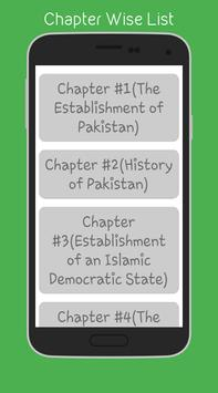 Pakistan Studies (12th) apk screenshot