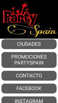 PartySpain poster