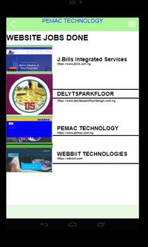 PEMAC TECHNOLOGY PORTFOLIO screenshot 3