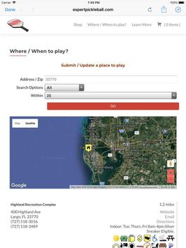 Pickleball Locator 2.0.2 screenshot 7