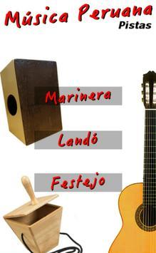 Pistas de Percusión Peruana poster