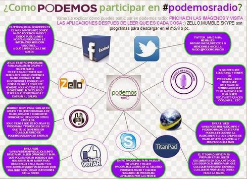 Live PODEMOS Radio screenshot 4