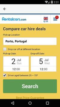 Porto Car Rental, Portugal apk screenshot