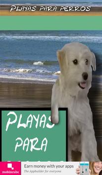Playas para perros poster