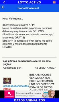 Pronostico Animalitos screenshot 2