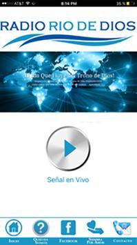 Radio Cristiana Rio De Dios poster