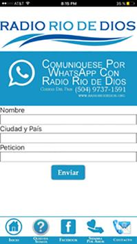 Radio Cristiana Rio De Dios screenshot 2